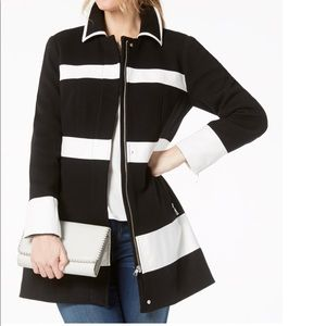 INC International Concepts Ponté Knit Coat Sz:XL